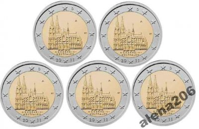 obrázok k predmetu 5 x 2 € pamätná minc