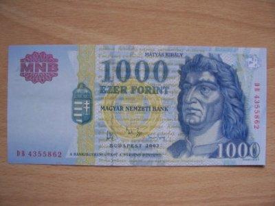 obrázok k predmetu Madarsko 1000 Forint