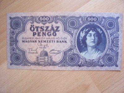 obrázok k predmetu Madarsko  Ötszáz Pen