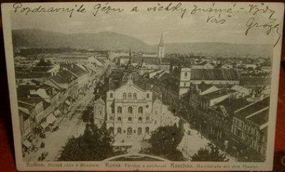 obrázok k predmetu Košice - 1921