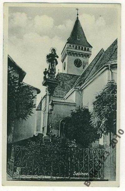 obrázok k predmetu Sabinov-kostol-stĺp