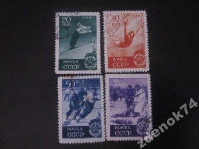 obrázok k predmetu ZSSR 1949 Mi 1409-11