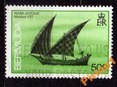 obrázok k predmetu Bermudy - Mi. 480