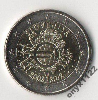 obrázok k predmetu Slovinsko 2012  - 2€