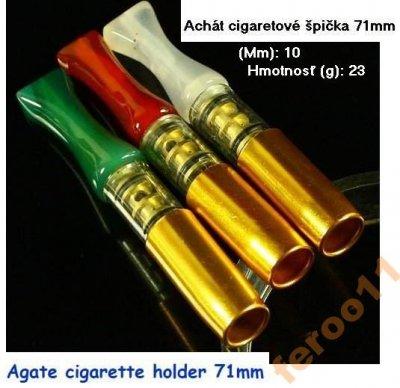 obrázok k predmetu Achát cigaretové špi