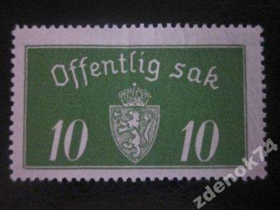 obrázok k predmetu Norsko 1933 Mi 12 II