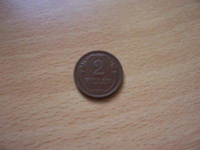 obrázok k predmetu Madarsko  2 Fillér 1