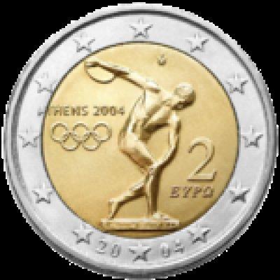 obrázok k predmetu Grécko - 2€ . 2004 -