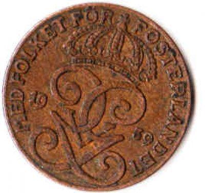 obrázok k predmetu Švédsko 2 Öre 1939