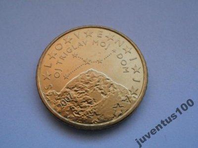 obrázok k predmetu Slovinsko 50 cent 20