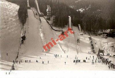 obrázok k predmetu foto - lyžiar, skoka