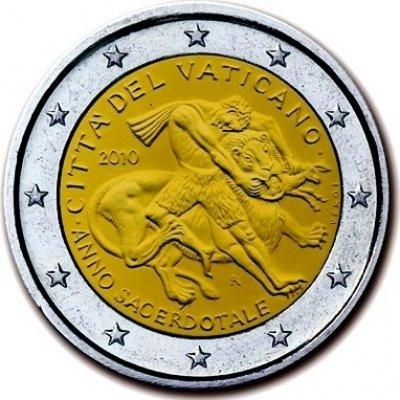 obrázok k predmetu 2010  2 euro Vatikán