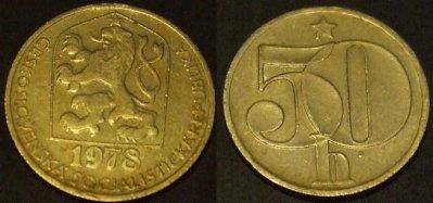 obrázok k predmetu 50 halierov 1978 ČSS