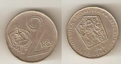 obrázok k predmetu 2 Kčs 1981