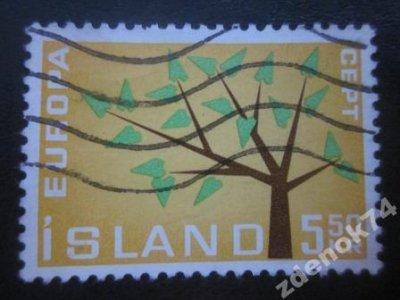 obrázok k predmetu Island 1962 Mi 364 r