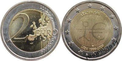obrázok k predmetu Pamätná 2 euro Luxem
