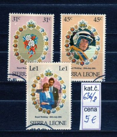 obrázok k predmetu SIERRA LEONE - DIANA