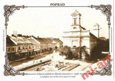 obrázok k predmetu XC - Poprad, námesti