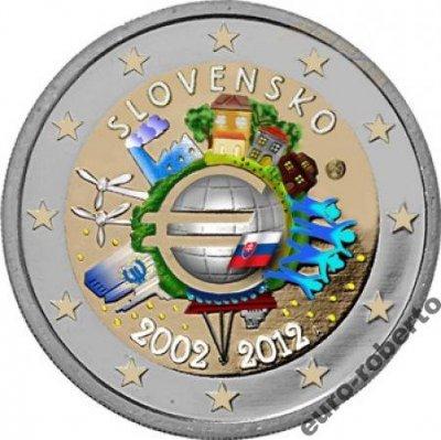 obrázok k predmetu Slovensko 2012- 2 €