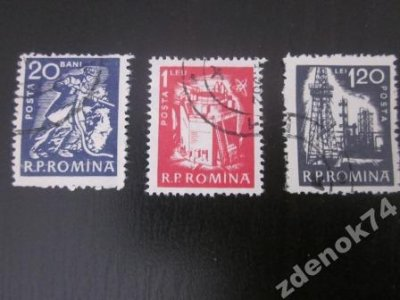 obrázok k predmetu Rumunsko 1960 razene