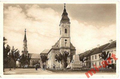 obrázok k predmetu 1 -Lučenec, kostol,
