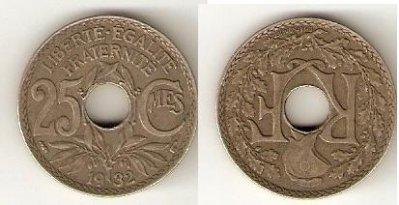 obrázok k predmetu 25 centisimes 1932