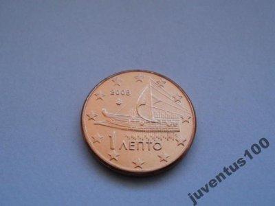 obrázok k predmetu Grécko 1 cent 2008 U