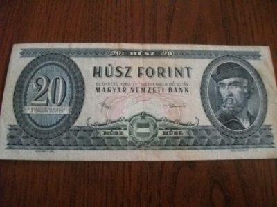 obrázok k predmetu 20 forintov 1980