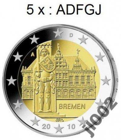 obrázok k predmetu Nemecko 2010 - 2 € p