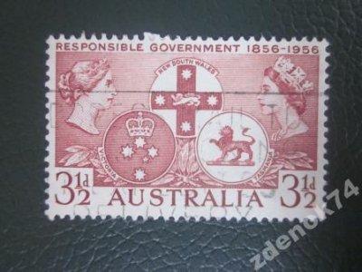 obrázok k predmetu Austrália 1956 Mi 26
