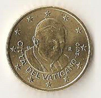obrázok k predmetu 50 cent Vatikan 2011