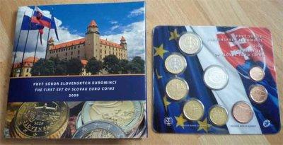 obrázok k predmetu Prvá sada euromincí