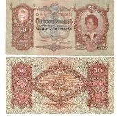tovar 50 pengő 1932  vyrobil aneskaceska