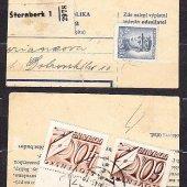 tovar ČSSR 1946, balíkový   vyrobil aneskaceska