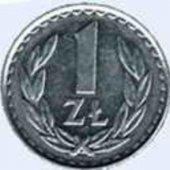 tovar Polsko 1 Zloty 1986  vyrobil aneskaceska
