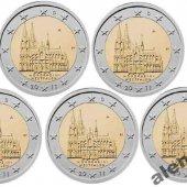 náhľad k tovaru 5 x 2 € pamätná minc