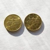 zberateľský predmet 10 Cent s vlajkou x   vyrobil aneskaceska