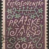 zberateľský predmet ČSSR 1967 - Pražské   vyrobil aneskaceska