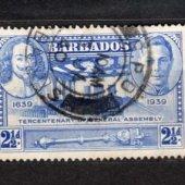 zberateľský predmet KOLONIA -BARBADOS -K  vyrobil aneskaceska