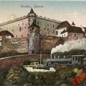 tovar 3 -Zvolen, hrad, žel  vyrobil lomonosov