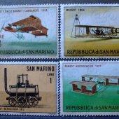 tovar San Marino doprava  vyrobil lomonosov