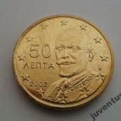 predmet Grécko 50 cent 2002   od lomonosov