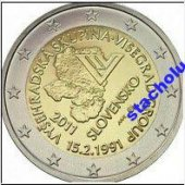 zberateľský predmet Slovensko - 2.€.  -   vyrobil lomonosov