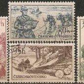 zberateľský predmet ČSSR 1956 - Bohatstv  vyrobil lomonosov