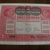 tovar 2 koruny 1917  vyrobil albrechtzvaltic