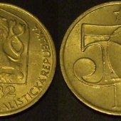 tovar 50 halierov 1982 ČSS  vyrobil albrechtzvaltic