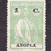 tovar ANGOLA 1922, nepouži  vyrobil albrechtzvaltic