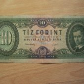 tovar Madarsko 10 Forint    vyrobil albrechtzvaltic