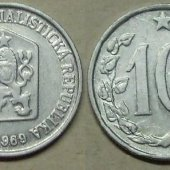 tovar 10 halierov 1969 ČSS  vyrobil albrechtzvaltic