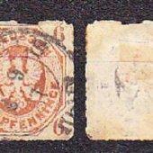 zberateľský predmet PREUSSEN 1861, razen  vyrobil albrechtzvaltic